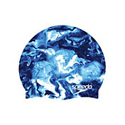Speedo Printed Elastomeric Silicone Swim Cap