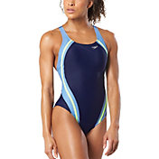 Speedo Women's PowerFLEX Eco Quantum Splice One Piece Swimsuit