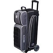 Ebonite Eclipse Triple Roller Bowling Bag