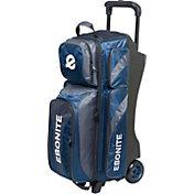 Ebonite Equinox Triple Roller Bowling Bag