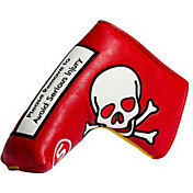 Stitch Golf Warning Leather Putter Headcover