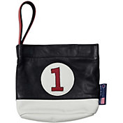 Stitch Golf Leather Valuables Pouch