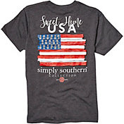 Simply Southern Girls' Flag USA T-Shirt