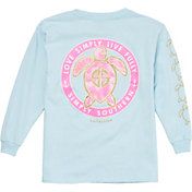 Simply Southern Girls' Save The Turtles Love Long Sleeve Shirt