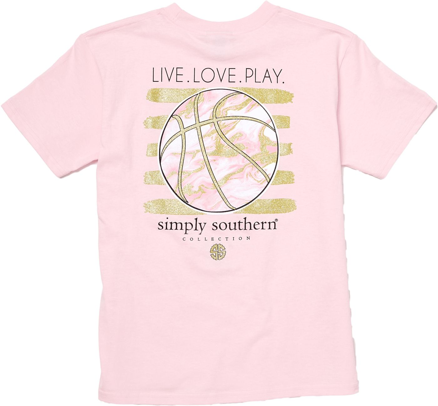 Simply Southern Girls' Basketball T-Shirt