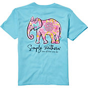 Simply Southern Girls' Elephant T-Shirt