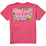 Simply Southern Girls' Patchwork T-Shirt