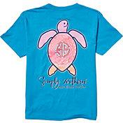 Simply Southern Girls' Save The Turtles Mandala T-Shirt