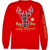 Simply Southern Women's Hey Deer Long Sleeve Shirt