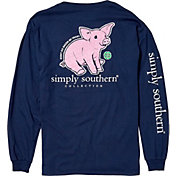 Simply Southern Women's Pig Long Sleeve Shirt