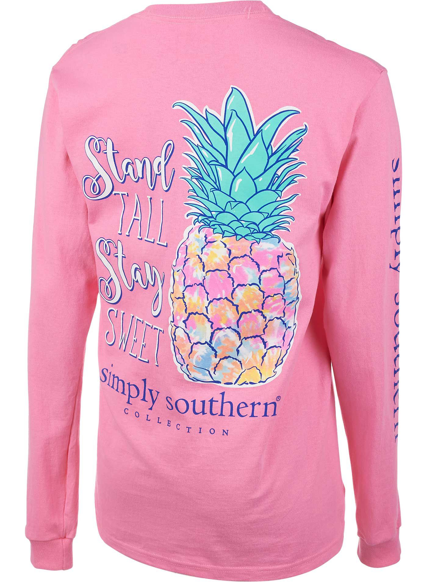 Simply Southern Women's Pineapple Long Sleeve Shirt