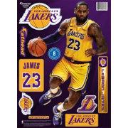 c49a23119e868 Fathead Los Angeles Lakers LeBron James Wall Decal