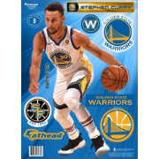 01a591dc43d7 Fathead Golden State Warriors Stephen Curry Wall Decal