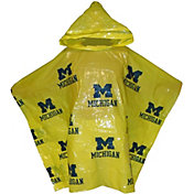 Sport Images Michigan Wolverines Storm Dud Rain Poncho