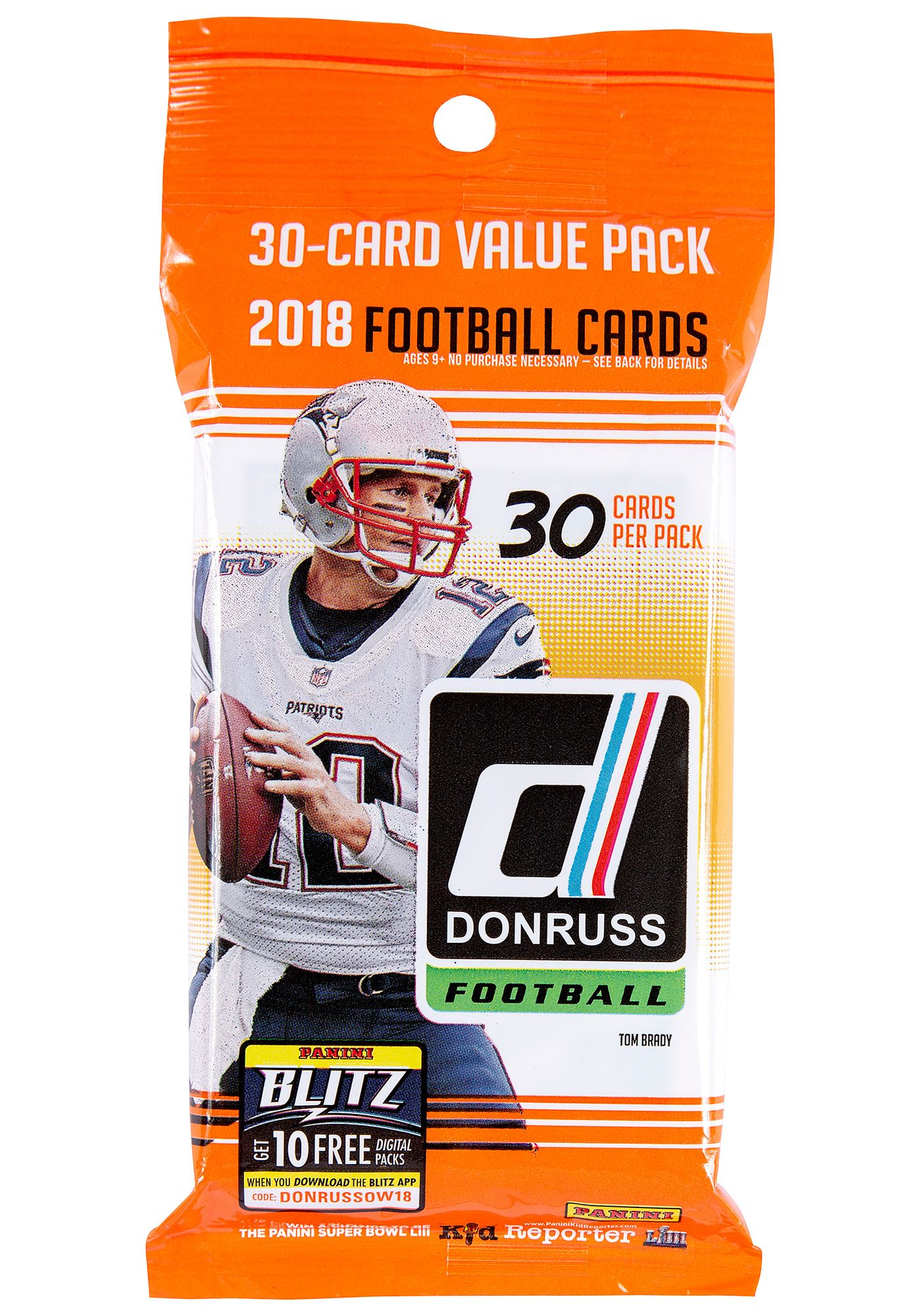 Panini NFL League 2018 Trading Card Value Pack