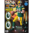 Fathead Green Bay Packers Aaron Rodgers Wall Decal