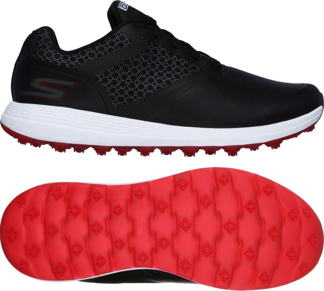 skechers slip on golf shoes