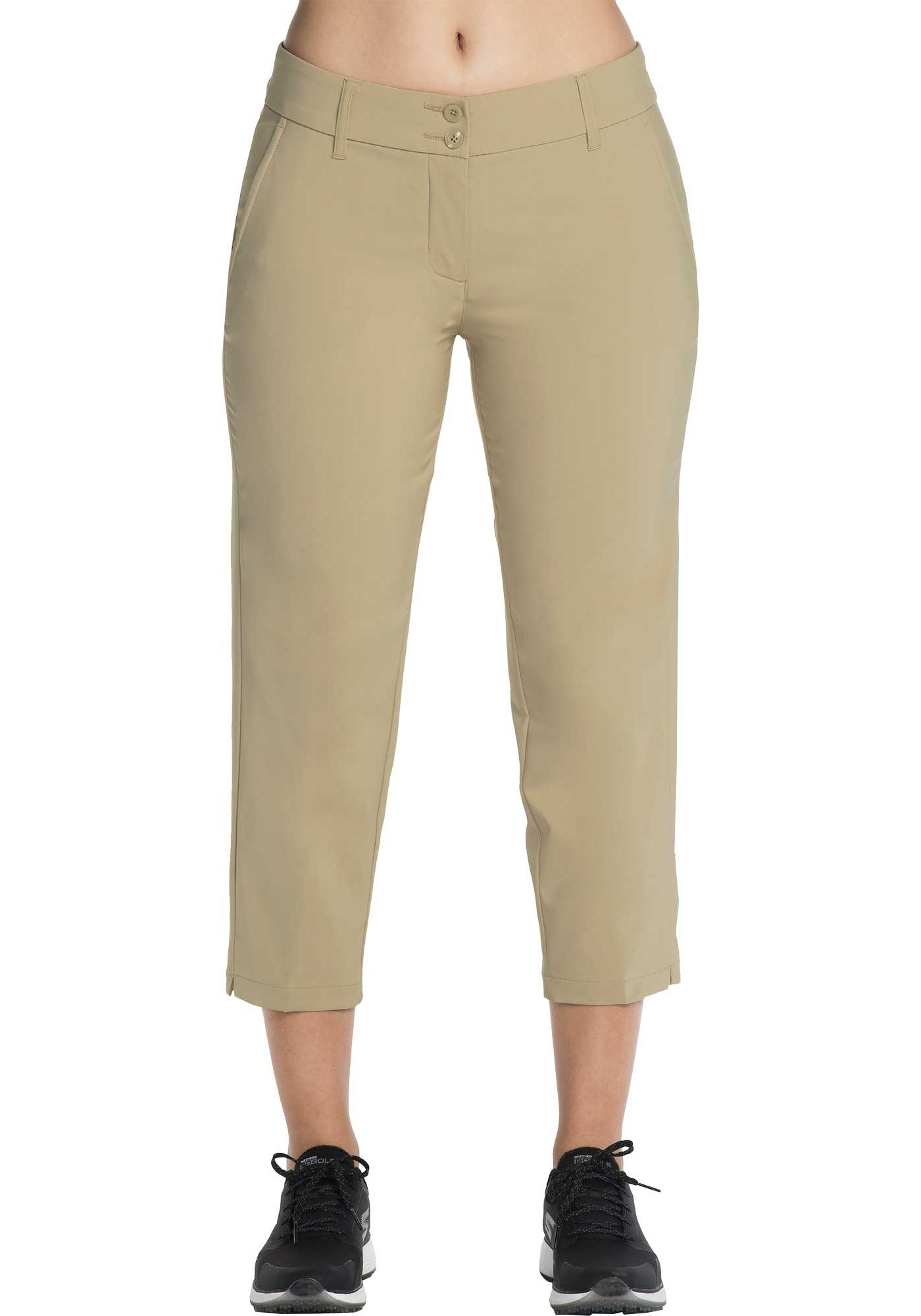 Skechers Women's Go Golf High Side Crop Golf Pants