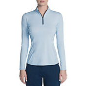 Skechers Women's Go Golf Long Sleeve ¼ Zip Golf Top