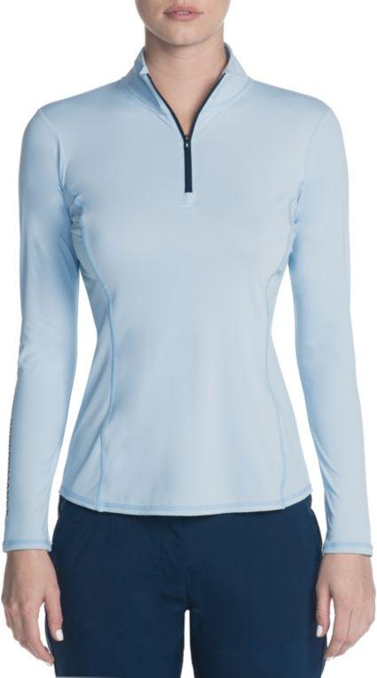 Skechers Women's Go Golf Long Sleeve ¼ Zip Golf Top
