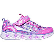 Skechers Kids' Preschool S Lights Heart Light-Up Shoes