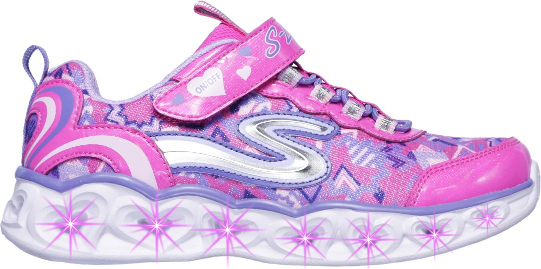 caab43b63ee4 Skechers Kids' Preschool S Lights Heart Light-Up Shoes | DICK'S ...