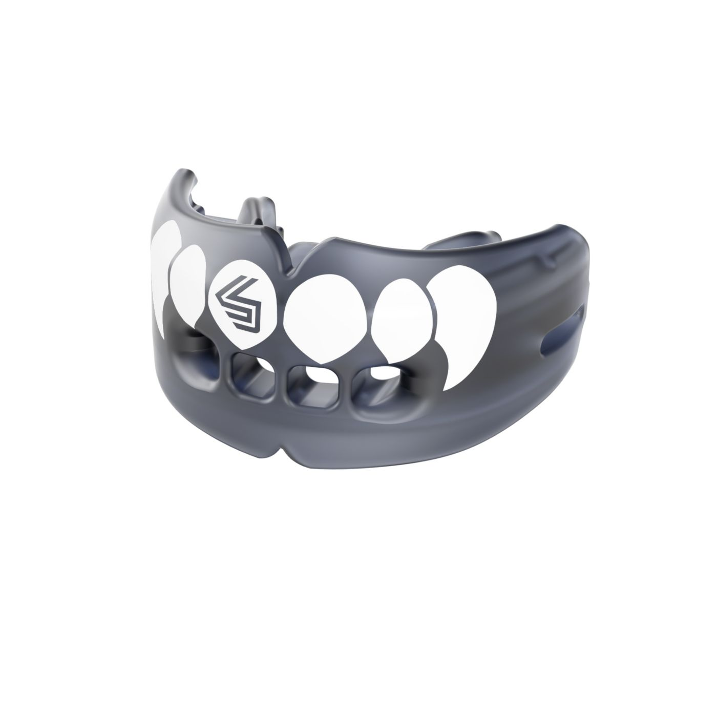 Shock Doctor Adult Fang Strapless Double Braces Mouthguard