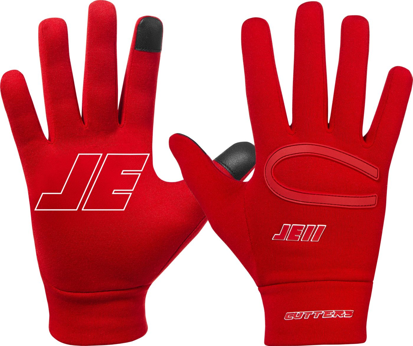 Cutters Adult Julian Edelman II Fan Series Gloves