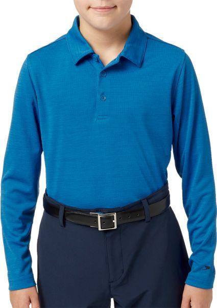 Slazenger Boys' Long Sleeve Golf Polo