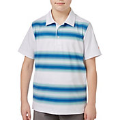 Slazenger Boys' All Over Stripe Golf Polo