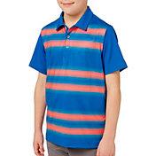 Slazenger Boys' All Over Stripe Golf Polo