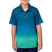 Slazenger Boys' Ombre Print Golf Polo