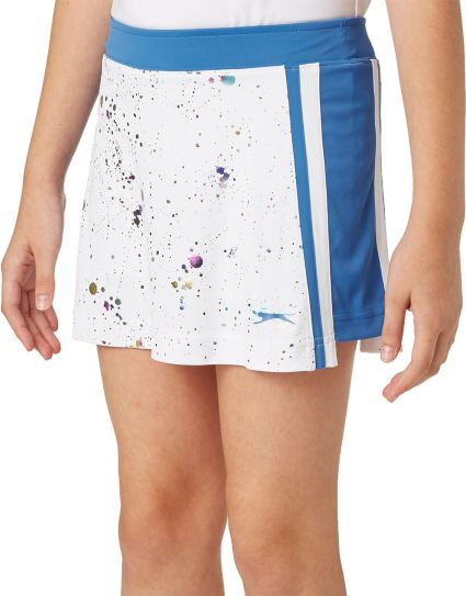 Slazenger Girls' Splatter Paint Golf Skort