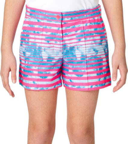 Slazenger Girls' Printed Golf Shorts