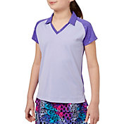 Slazenger Girls' Foil Polka Dot Golf Polo