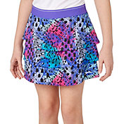 Slazenger Girls' Tiered Ruffle Golf Skort