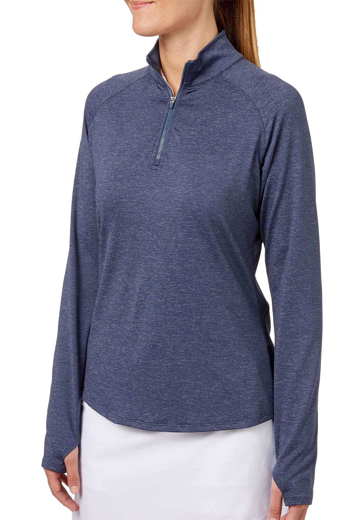 Slazenger Women's Heathered Quarter-Zip