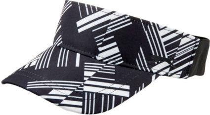 Slazenger Women's Lite Bright Collection Shattered Stripe Visor