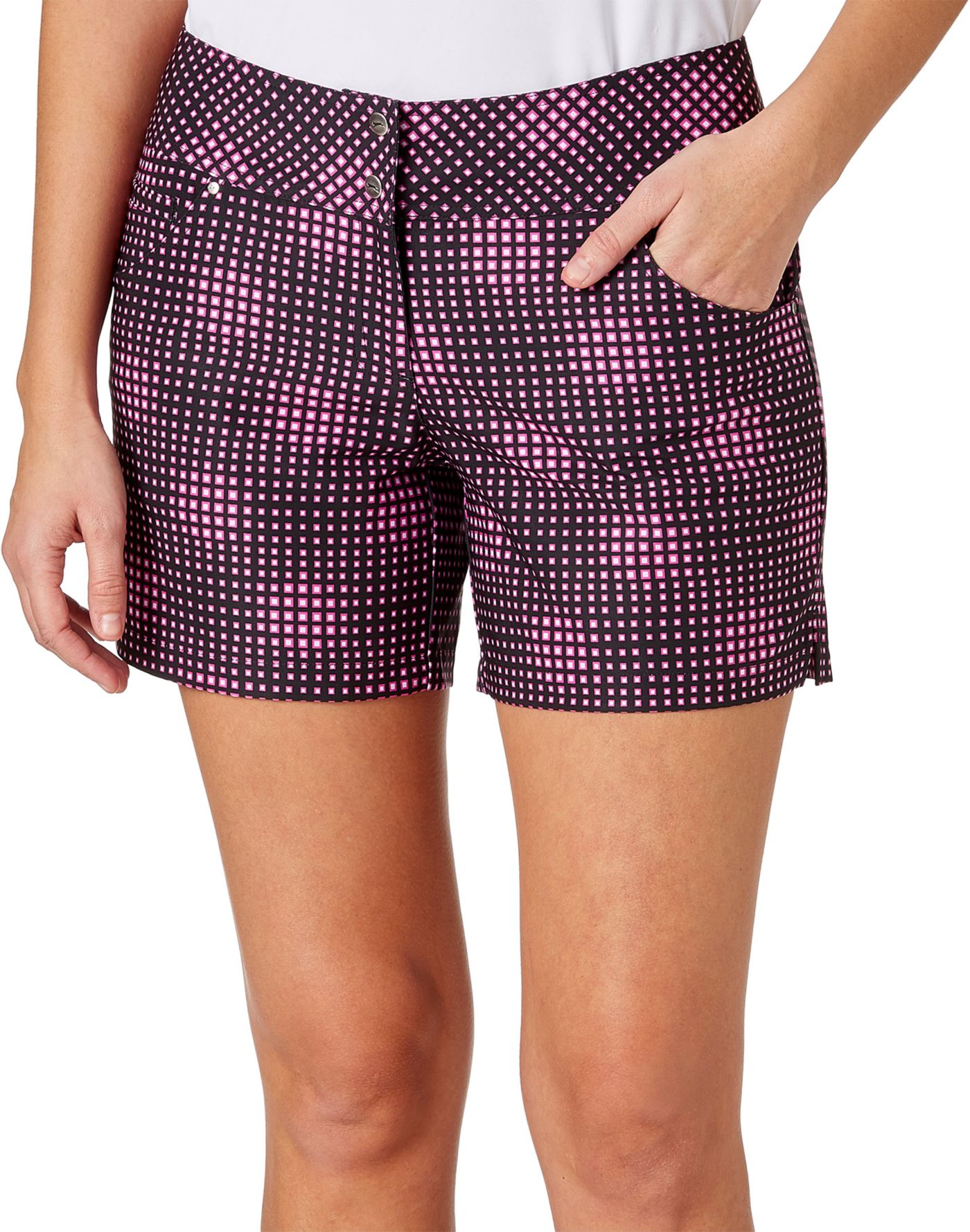 Slazenger Women's Lite Bright Collection Printed Golf Shorts