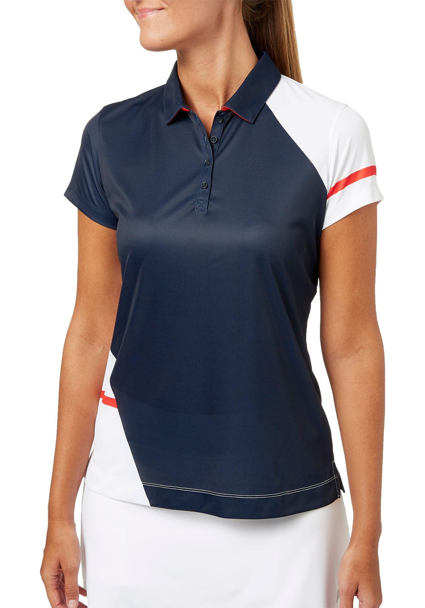 Slazenger Women's Lite It Up Collection Asymmetrical Golf Polo