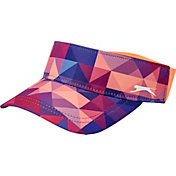 Slazenger Women's Solar Eclipse Collection Geo Print Visor