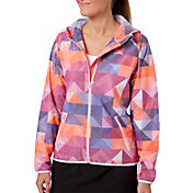 Slazenger Women's Solar Eclipse Collection Printed Hooded Golf Jacket