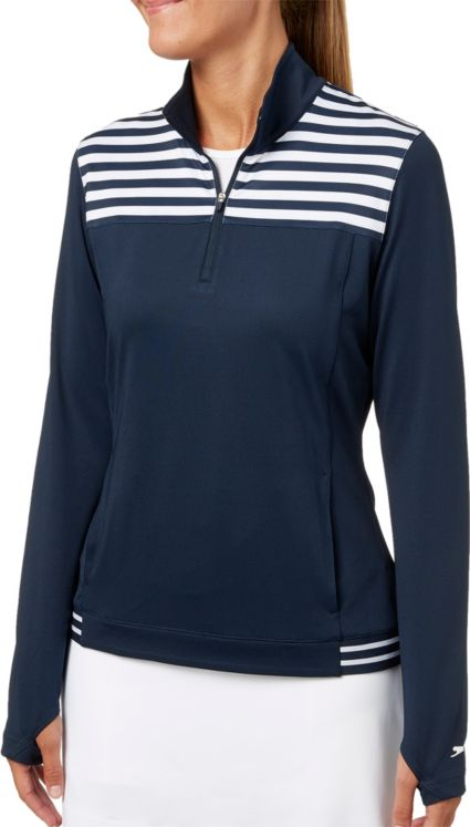 Slazenger Women's Striped Golf 1/4-Zip