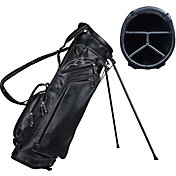 Sun Mountain Men's Leather Stand Golf Bag