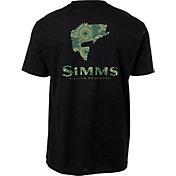 Simms Men's Bass Reel Fill Short Sleeve T-Shirt