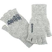Simms Men's Wool Half Finger Gloves