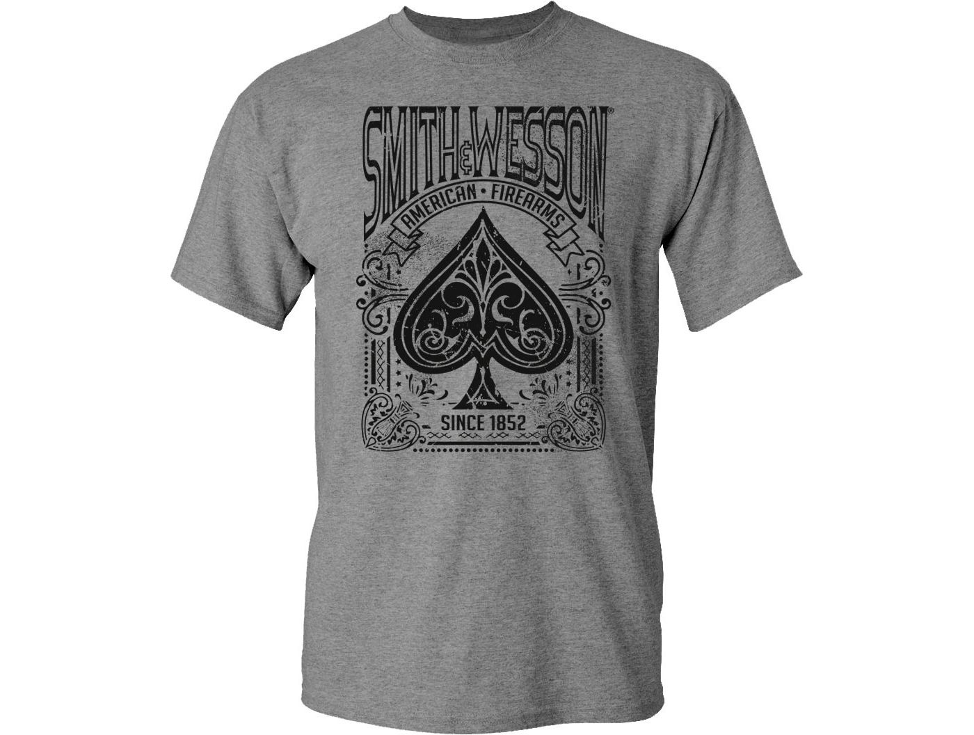 Smith & Wesson Men's Ace of Spades T-Shirt