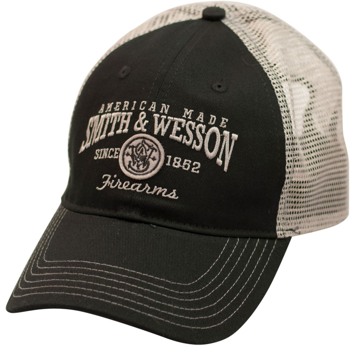 Smith & Wesson Men's American Made Firearms Trucker Hat