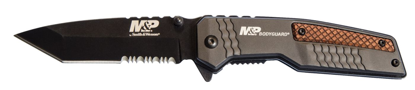 Smith & Wesson M&P Bodyguard Serrated Folding Knife