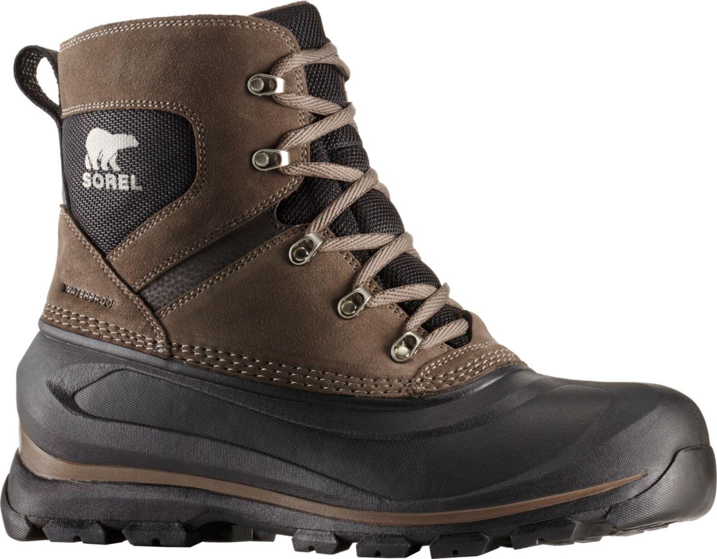 SOREL Men's Buxton Lace 200g Waterproof Winter Boots